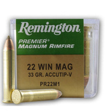 Remington 22WMR 33gr Accutip-V