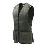 Beretta Trap Cotton Vest Green/Black
