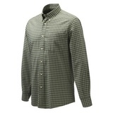 Beretta Wood Button Down Shirt Green