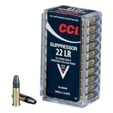 CCI 22LR Suppressor