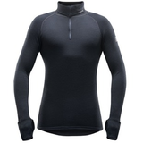Devold Expedition Man Zip Neck Black