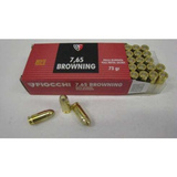 Fiocchi 7,65 Browning 32 Auto