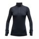 Devold Expedition Woman Zip Neck Black
