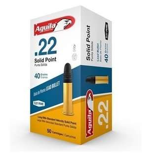Aguila Solid Point 22 LR 50 kpl