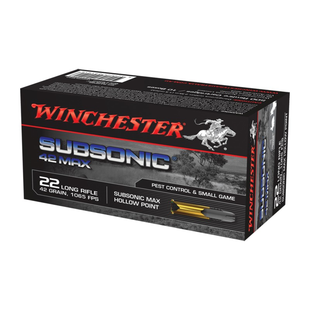 Winchester 22 LR Subsonic 42 MAX